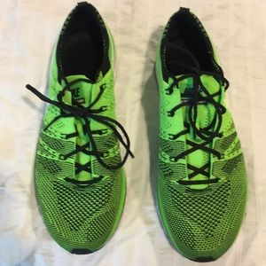 Nike Volt Flyknit Trainers - WORN ONCE